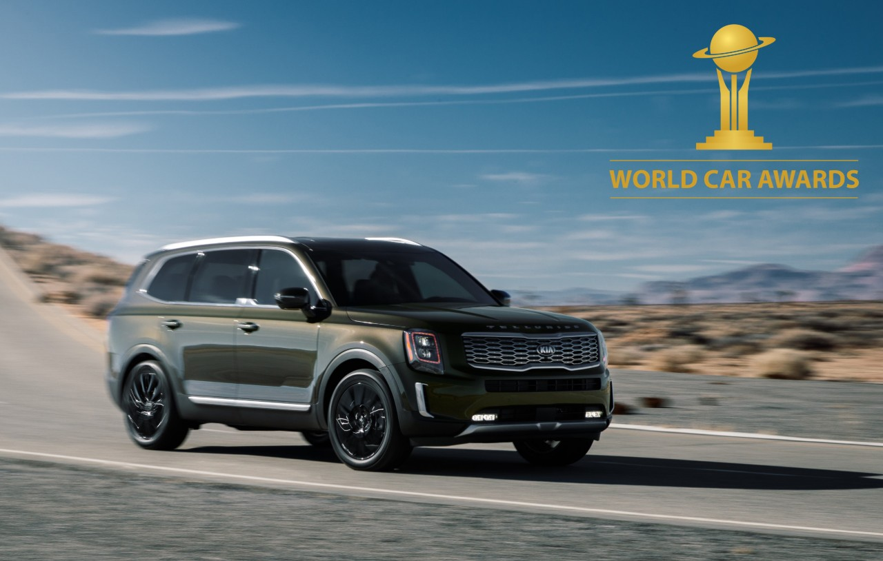 kia Telluride world car award 2020