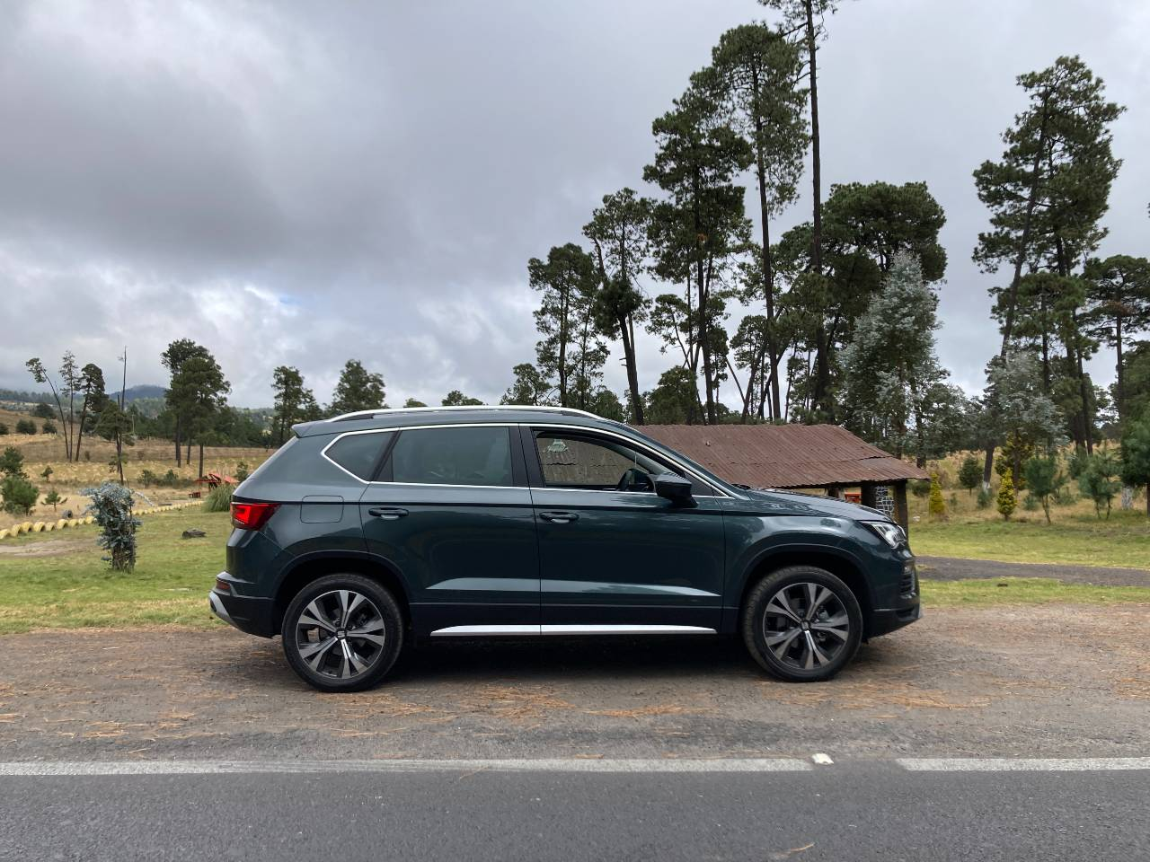 seat ateca 2021 lateral